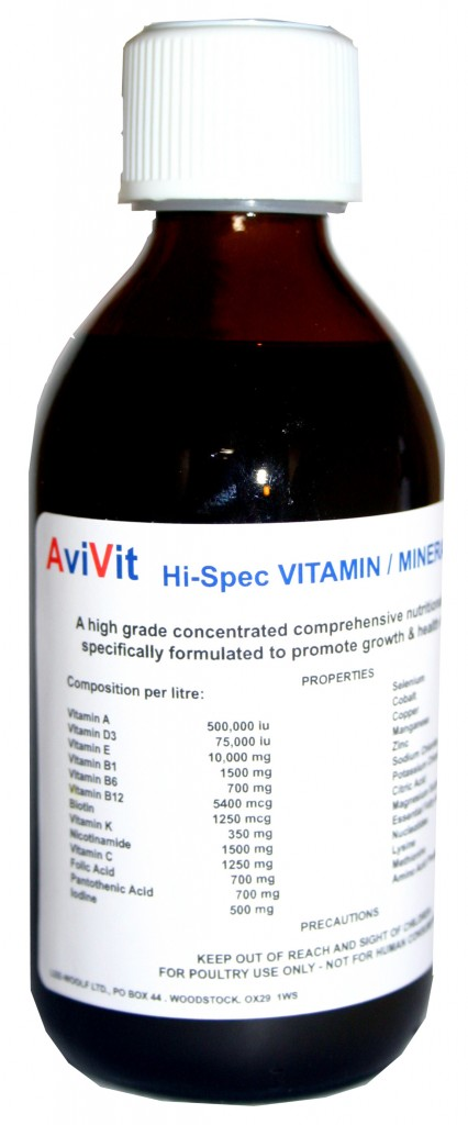 Poultry Hi Spec Vitamin Mineral TonicLegbars Of Broadway